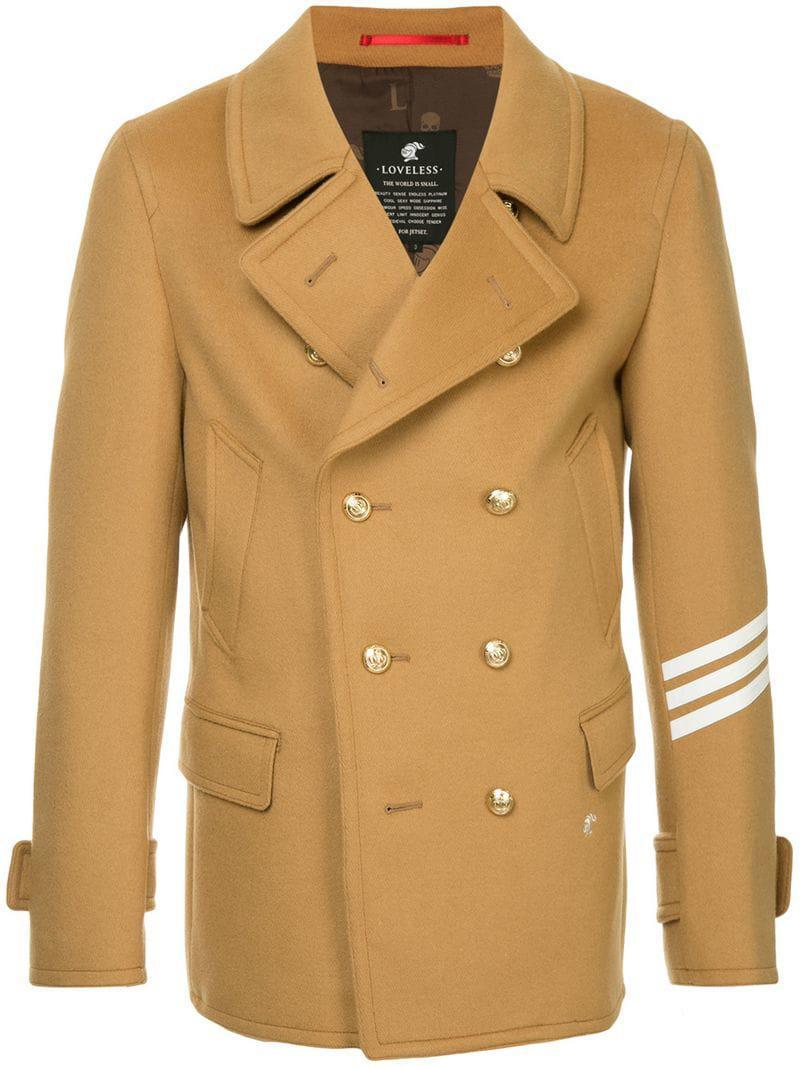 5d2914098bd Lyst - Loveless Double Breasted Blazer in Brown for Men