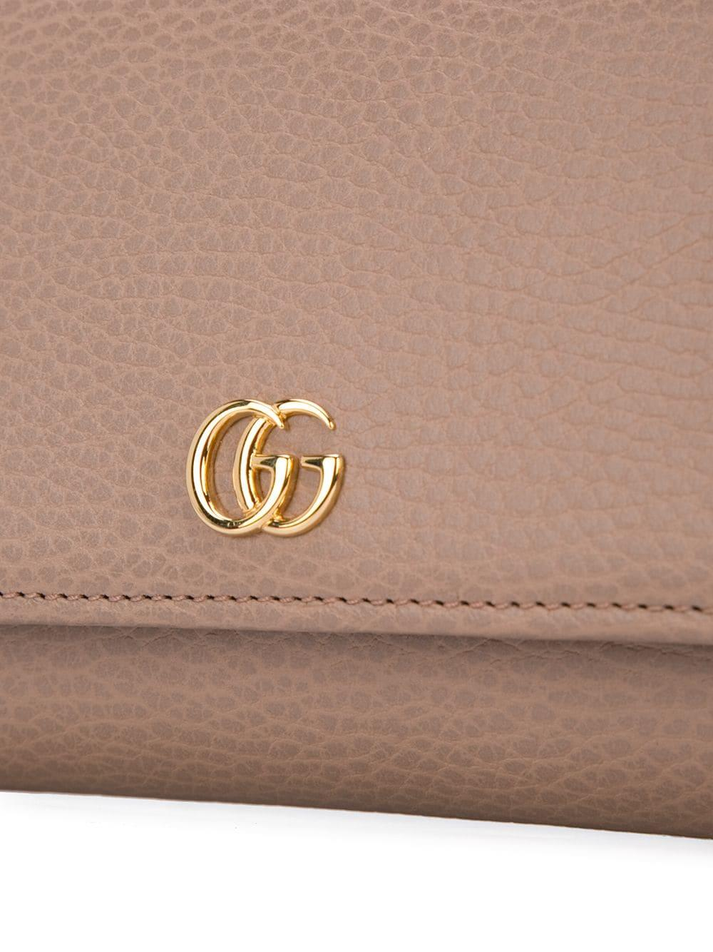 b3147508a4f ... Petite Marmont Continental Wallet - Lyst. View fullscreen