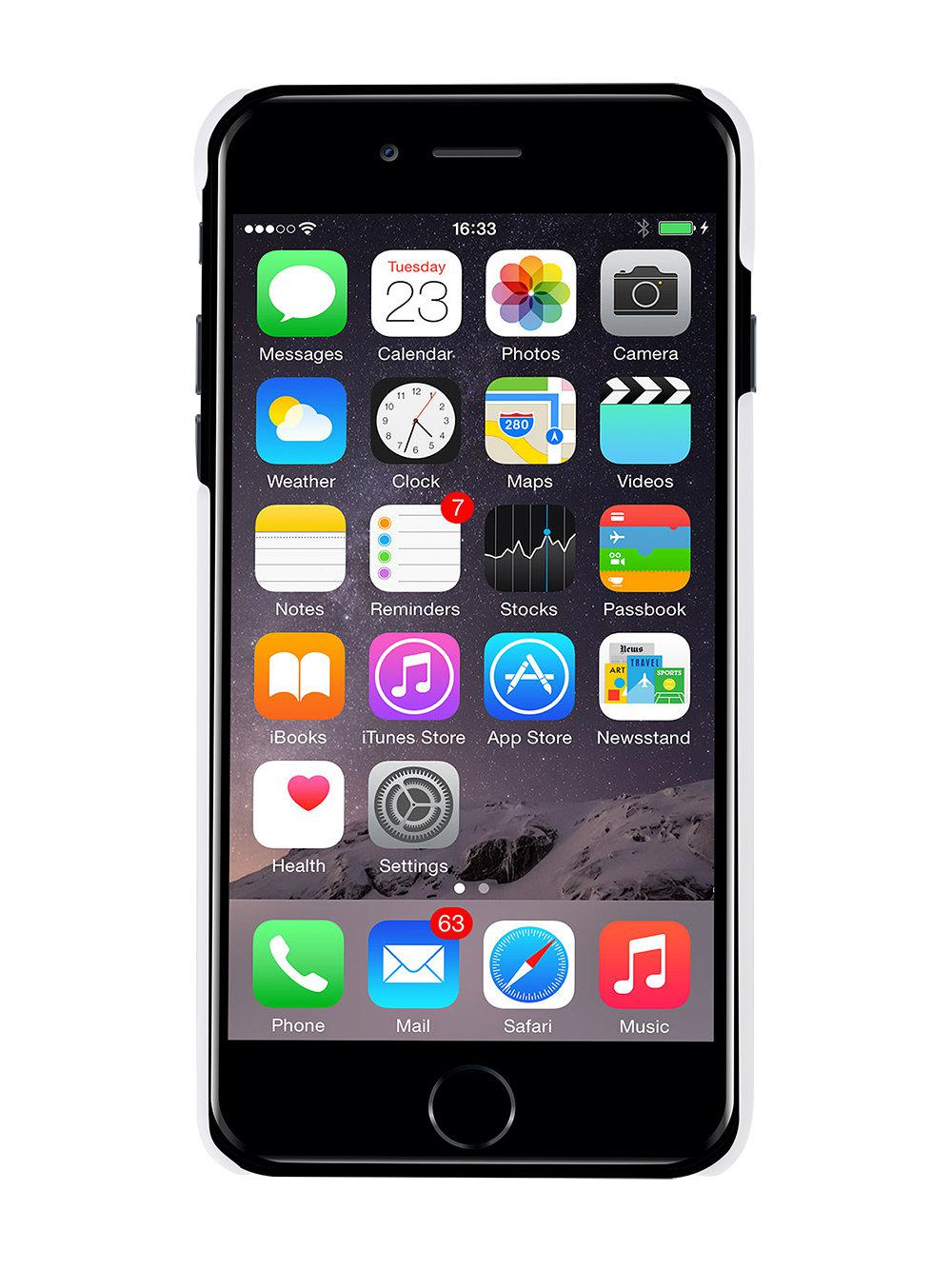 Lyst - Off-White c\/o Virgil Abloh Diagonal Print Iphone 7+ Case in White