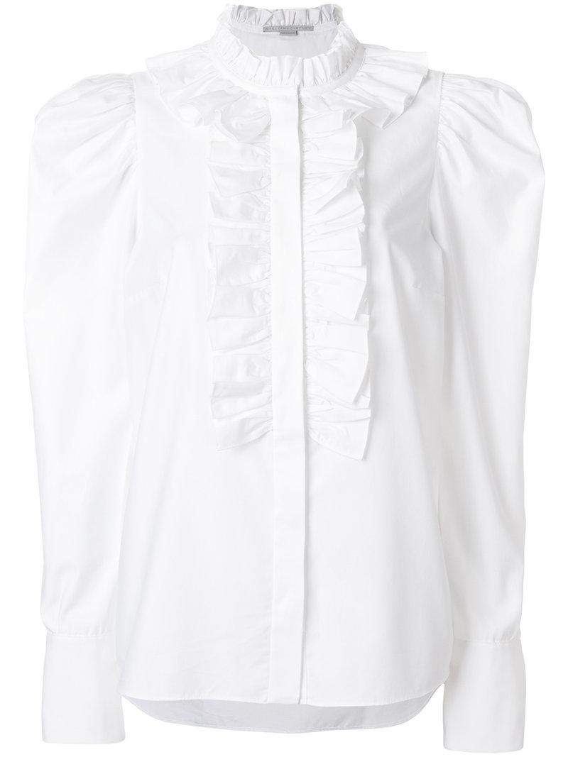 lace trim blouse - Unavailable Stella McCartney Free Shipping Discount Discount Low Cost suGTr9Wc