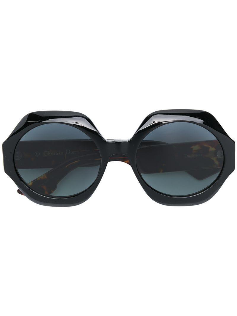 a5aea04b124 Dior Spirit 1 Sunglasses in Black - Lyst