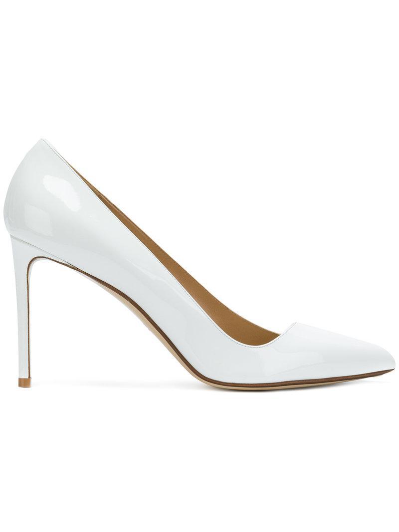 Francesco Russo Women's Pointy Toe Pump nsgel