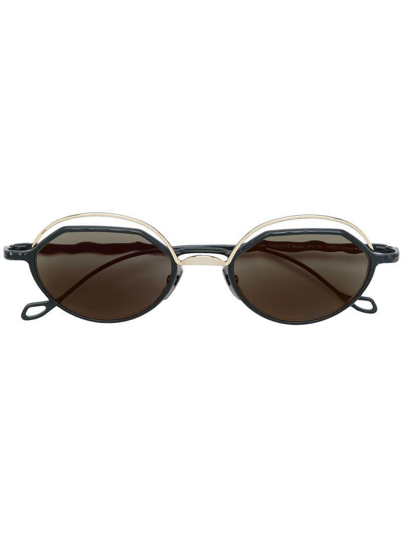 fbd4970b0495 Kuboraum Square Tinted Sunglasses in Black - Lyst