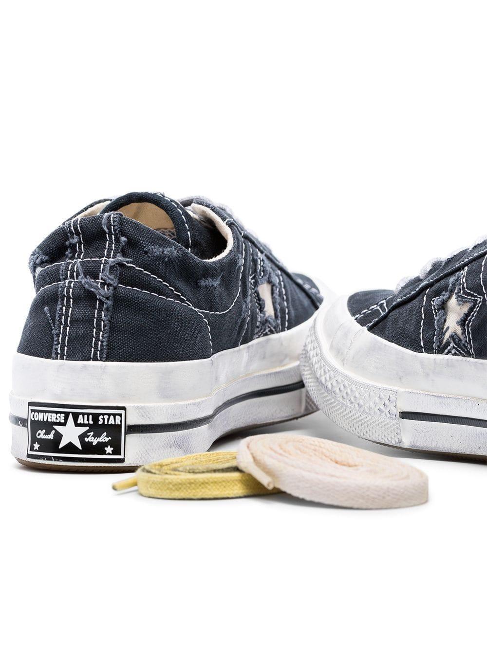 Converse X Faith Connexion neutral Run Star low top sneakers