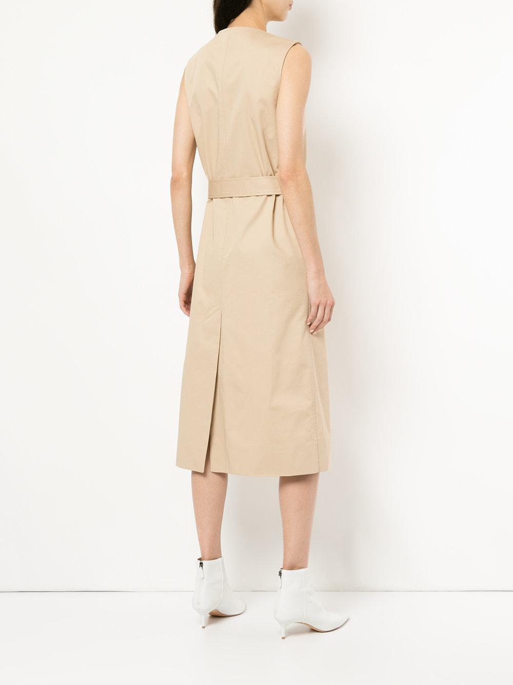 belted wrap dress - Brown CHRISTOPHER ESBER oYBec6b