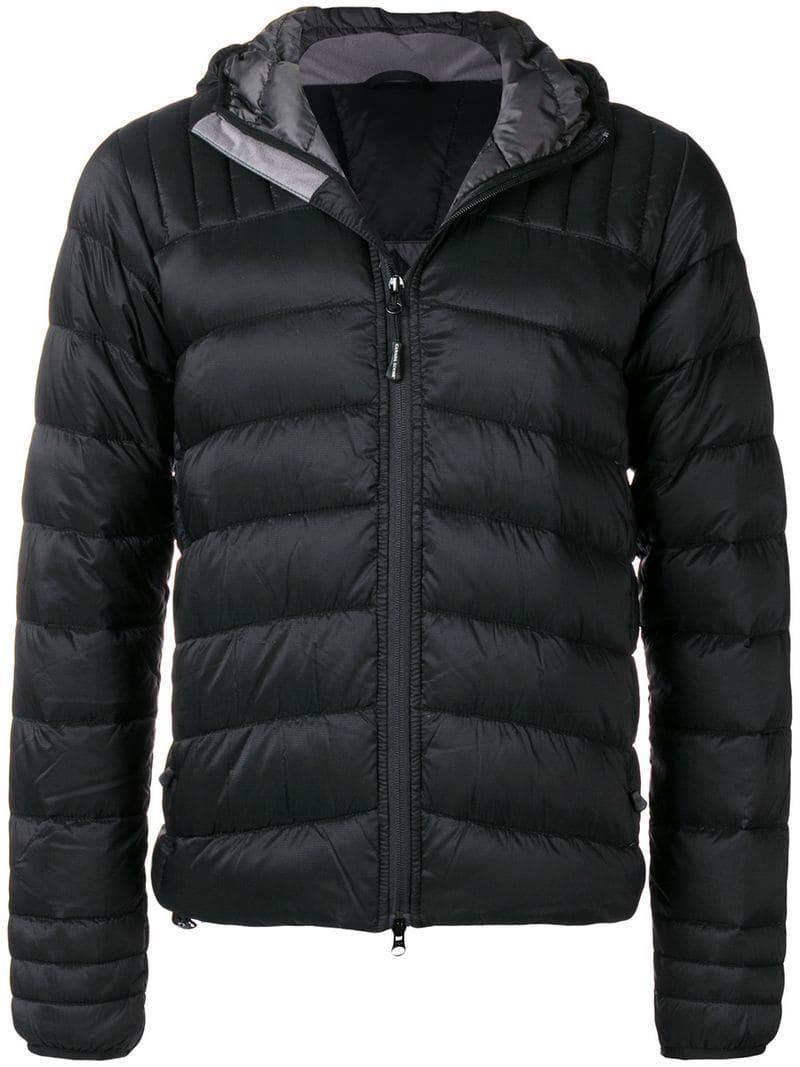 Canada Goose. Men's Black Puffer Jacket