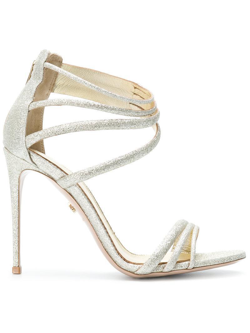 LE SILLA Glittered sandals LdoLoUJNtm