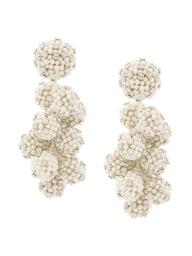 Coconuts earrings - White Sachin & Babi uoOrOZ7