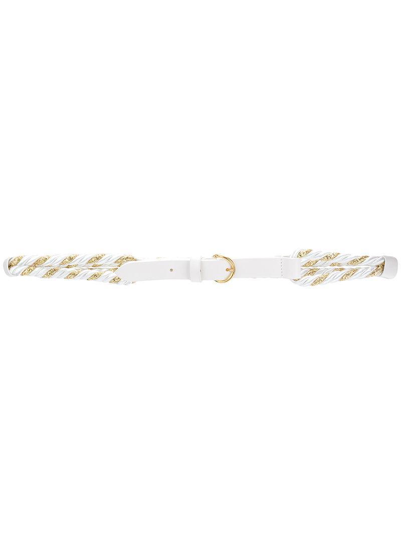 rope belt - White Philosophy di Lorenzo Serafini pafCheuqS