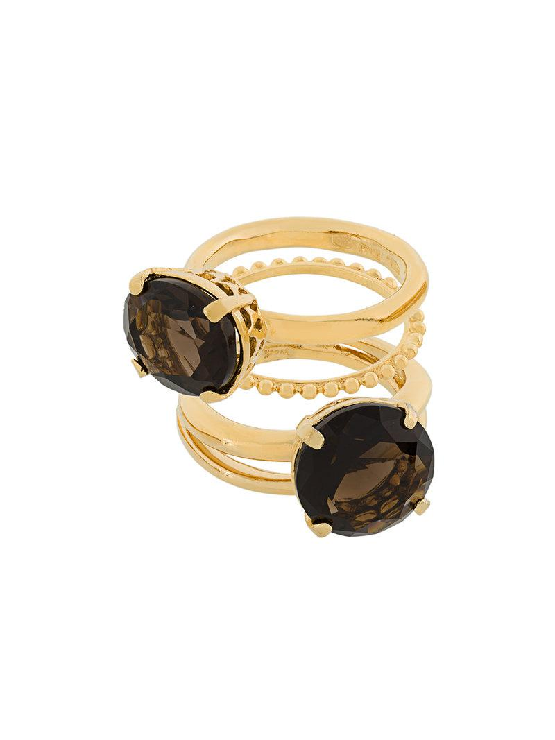 My Favourite ring stacking set - Metallic Wouters & Hendrix uXcjLZJiYE