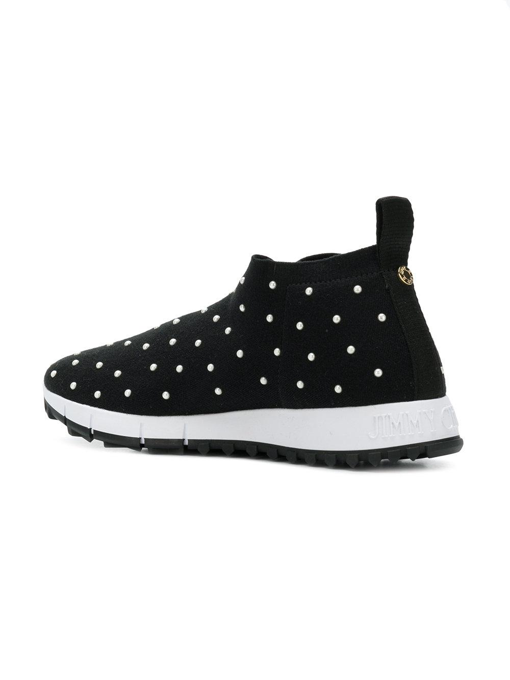 outlet in China sale purchase Jimmy Choo Norway pearl embellished sneakers find great for sale cheap sale largest supplier yRW3X9Xq