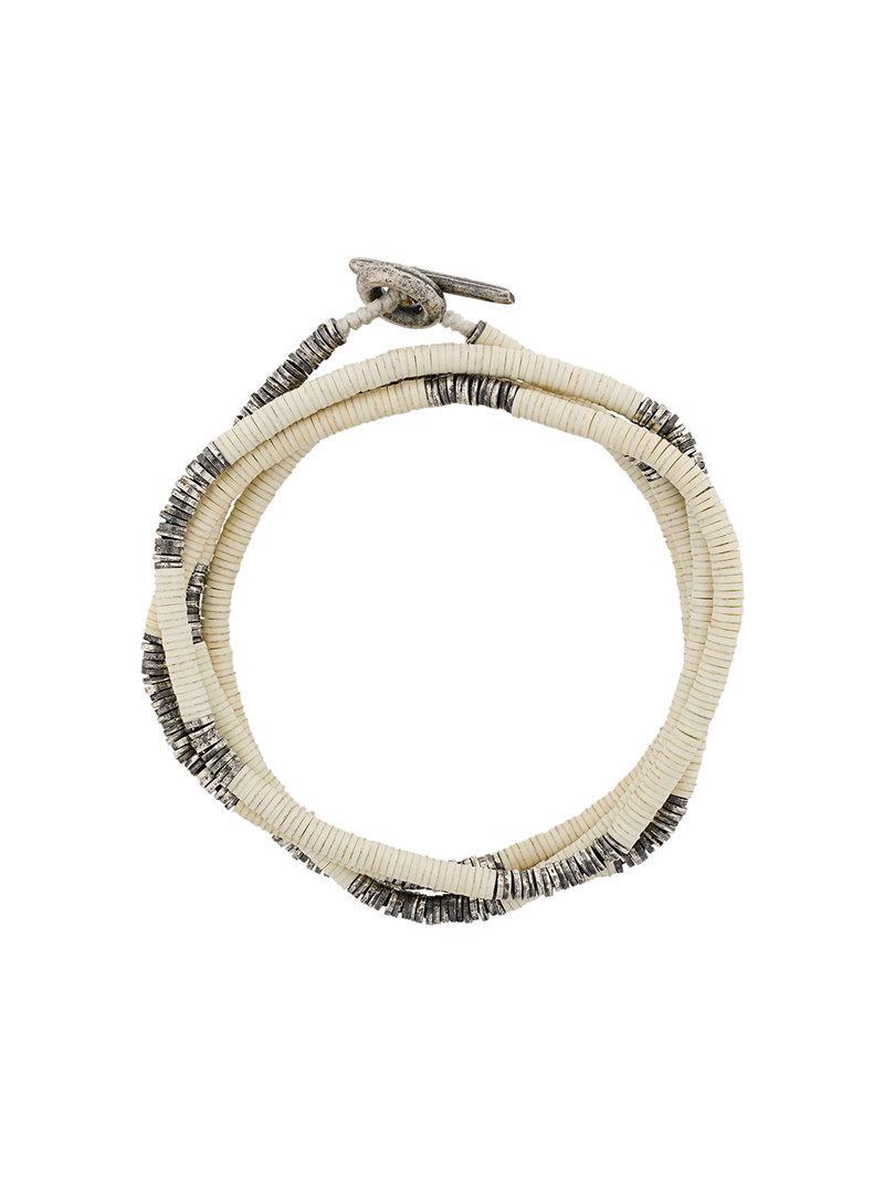 M. Cohen embossed ring - Metallic OVIk0t