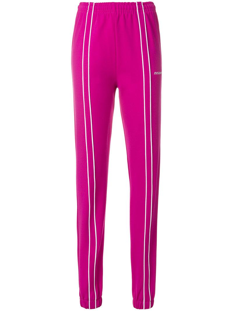 Aspen track pants - Pink & Purple Misbhv Clearance Discounts Clearance Top Quality Footlocker Pictures Top Quality Fashion Style HYdaynEC
