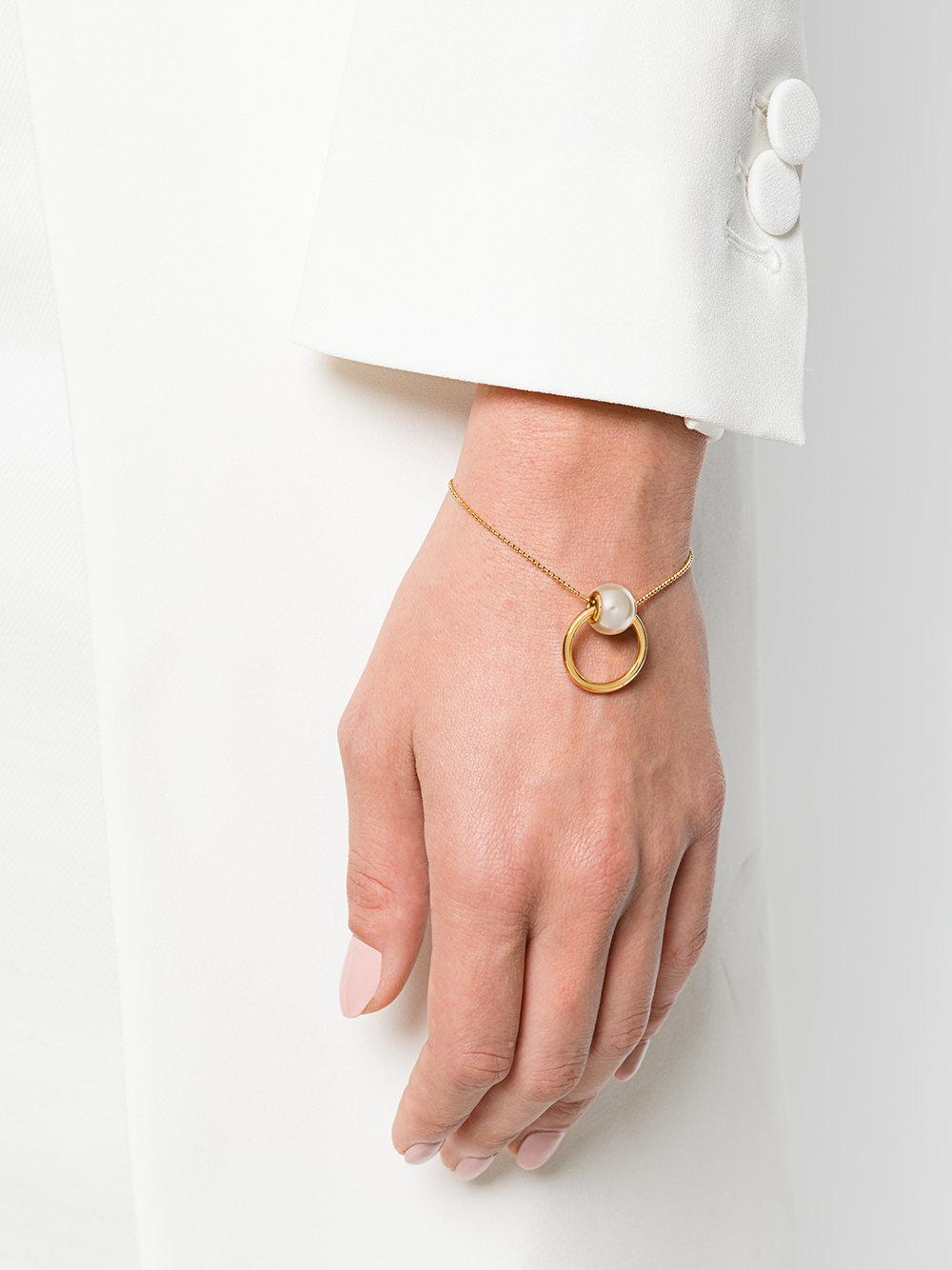 pearl embellished bracelet - Metallic Dsquared2 yikQ5zETsf