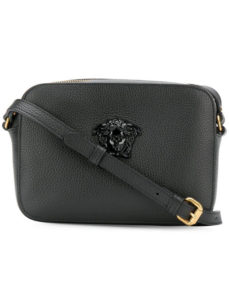 f23f02743b0d Lyst - Versace Palazzo Shoulder Bag in Black