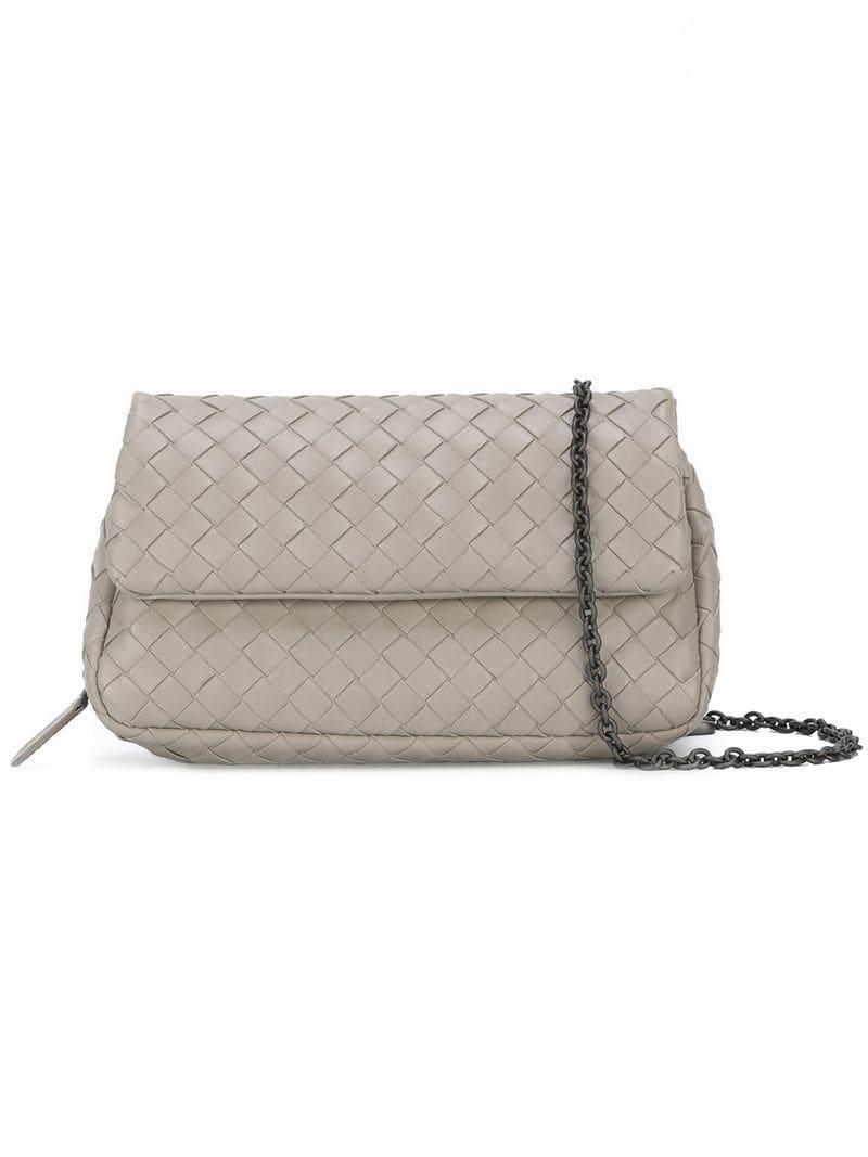 0d755feac1 Bottega Veneta. Women s Woven Crossbody Bag