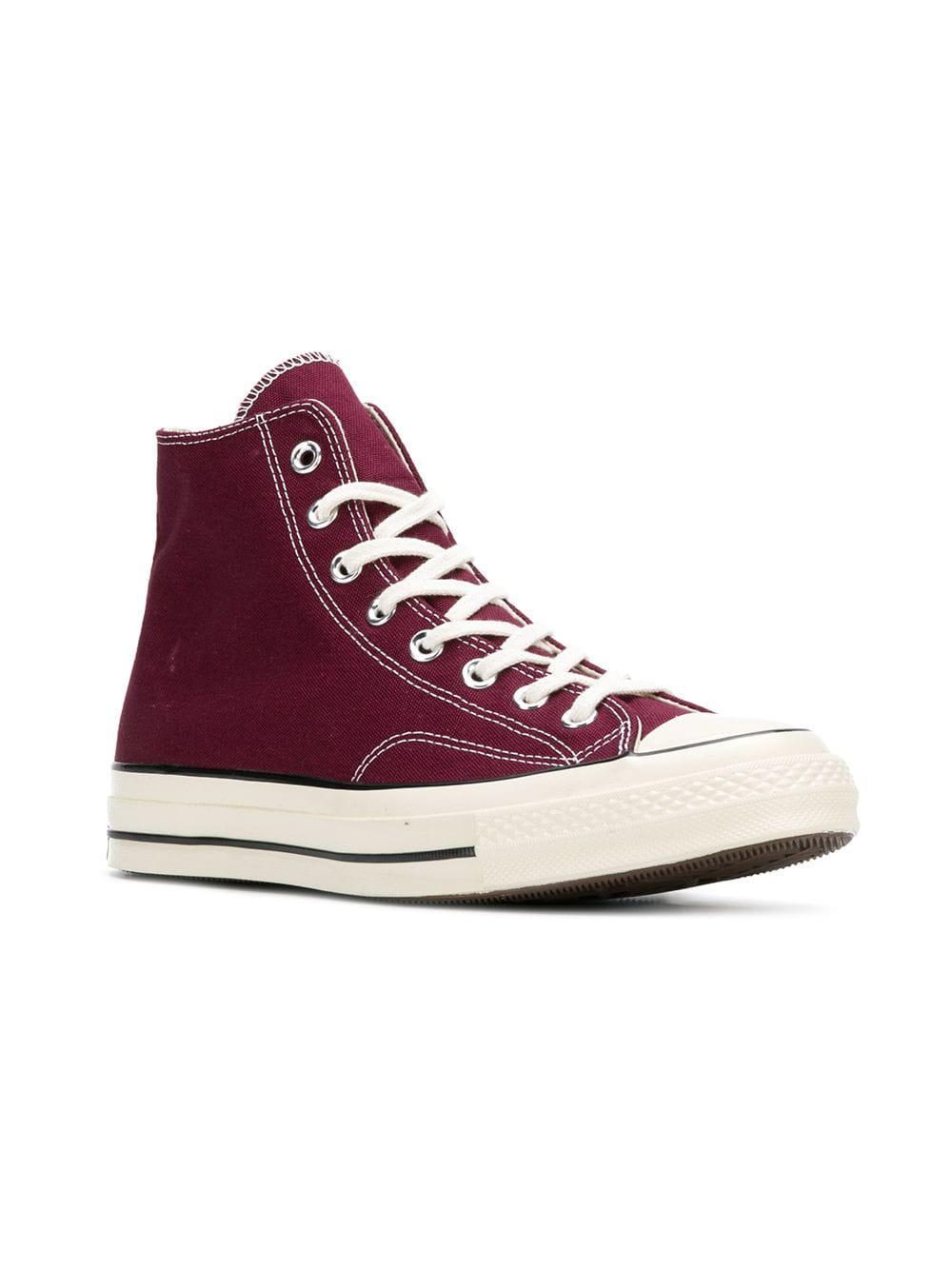 7658bc797aa0 Converse Chuck Taylor All Star Hi Men s Shoes (high-top Trainers) In Red in  Red for Men - Lyst