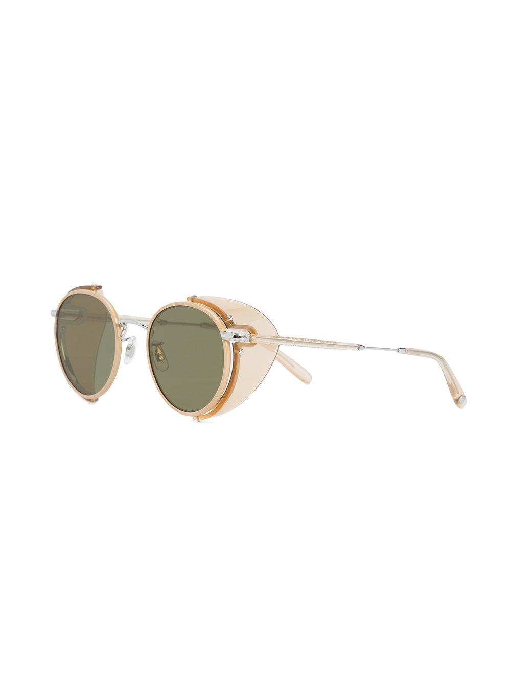 8e4ff11faa5 Lyst - Garrett Leight Wilson Sun Shield Sunglasses in Green for Men