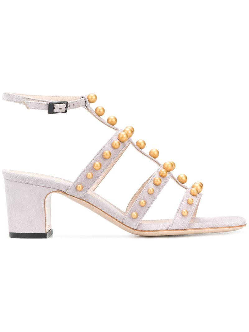 Pollini embellished T-bar sandals free shipping for cheap clearance new arrival lDoYdyFj4