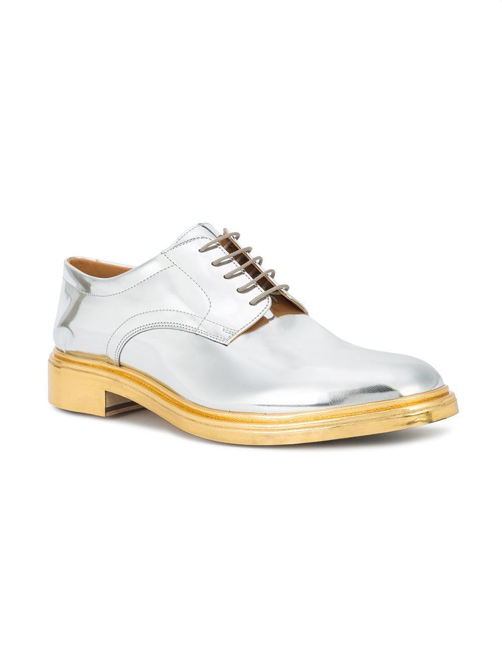 Lyst Zapatos derby espejados Maison Margiela de hombre de