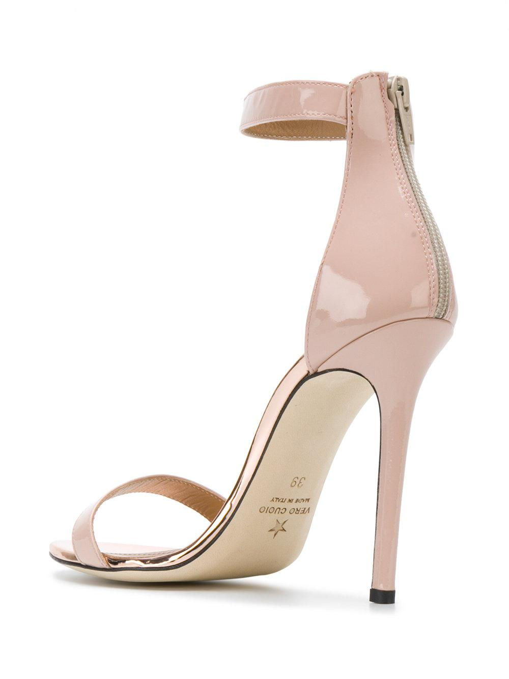 ankle strap stiletto sandals - Nude & Neutrals Marc Ellis 453S4