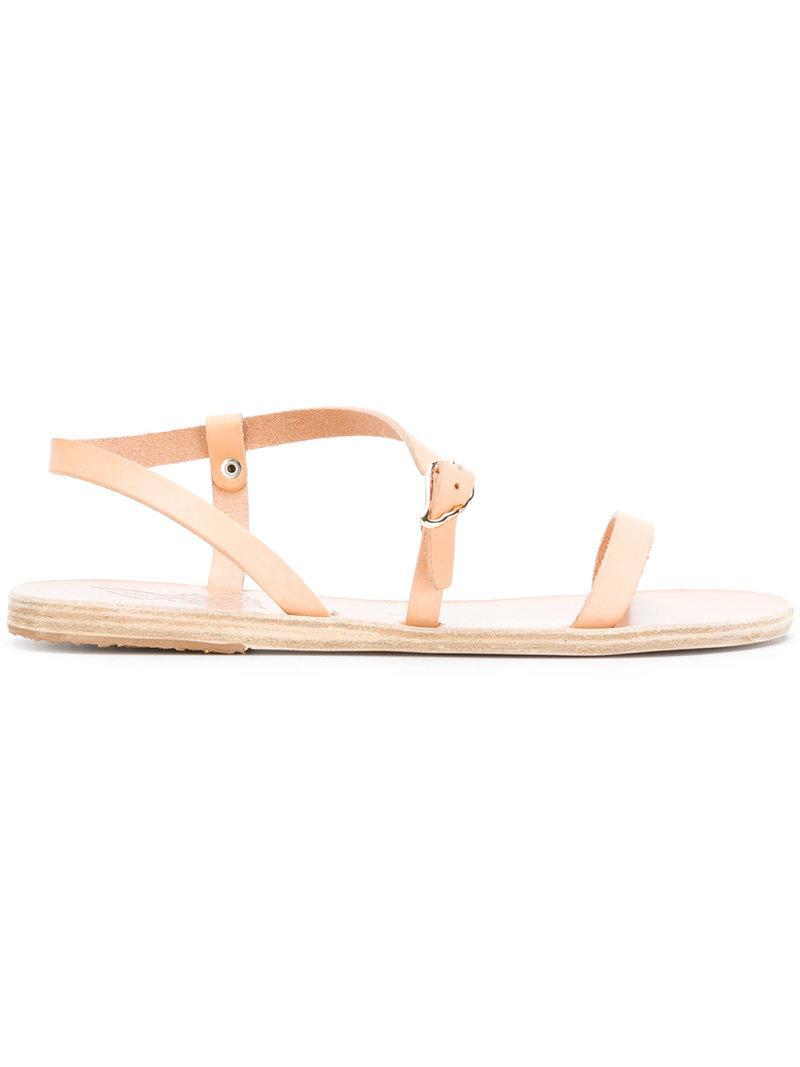 Thalia flat sandals - Nude & Neutrals Ancient Greek Sandals HWSHG