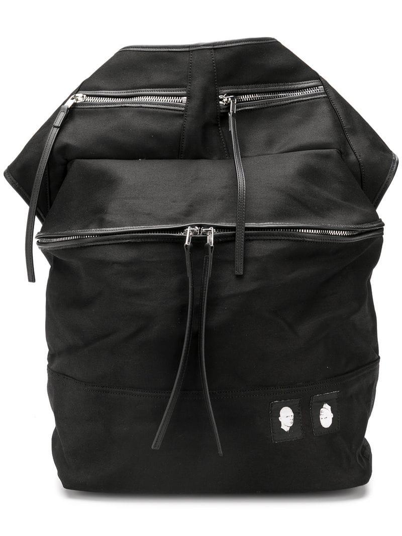 Rick Owens Drkshdw Oversized Belt Bag in Black for Men - Lyst cd044b0e525cf