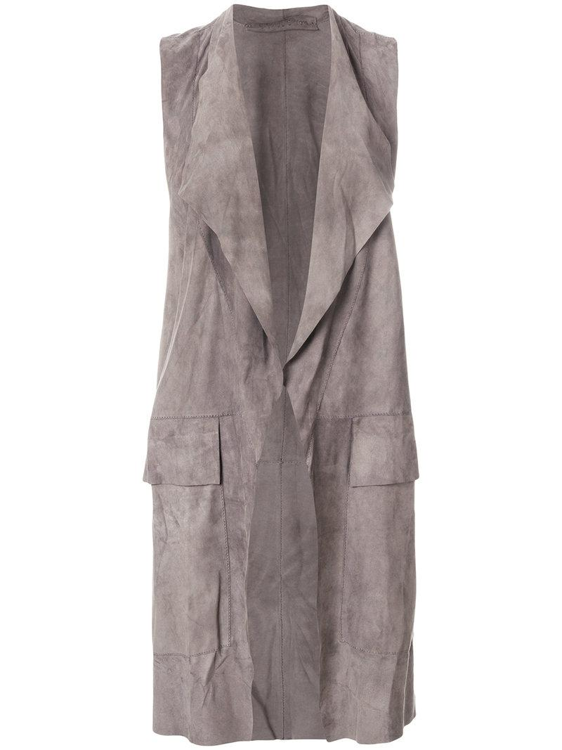 Salvatore Santoro open-front vest coat Discount Shop Offer Cheap Price Cheap Low Price Fee Shipping nhOmPFw6A