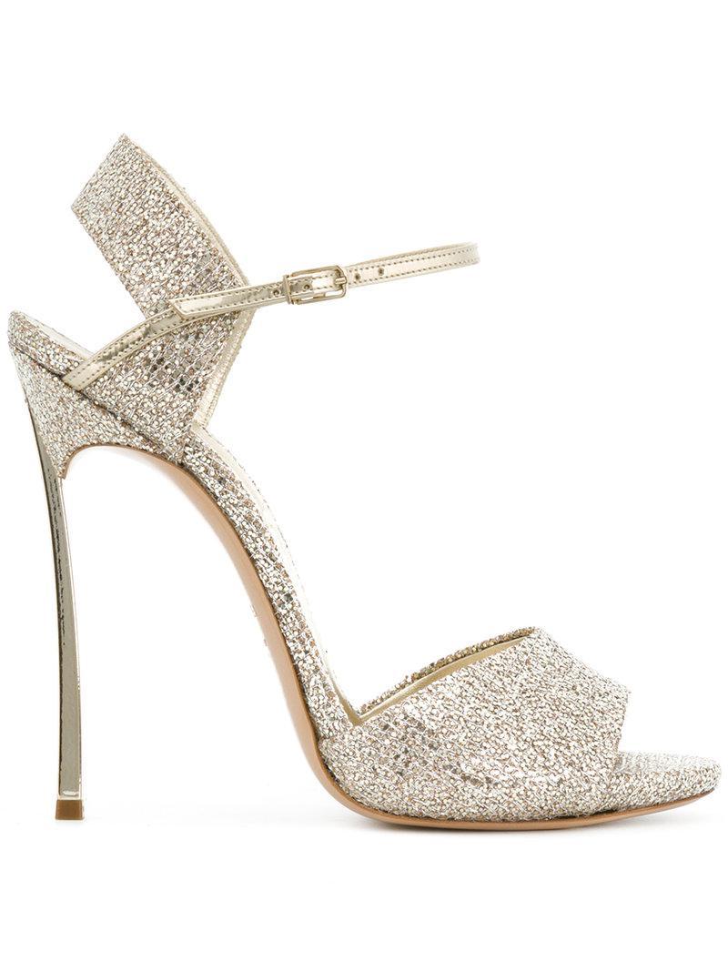 glitter stilettos - Metallic Casadei 6n5MHQ4wX