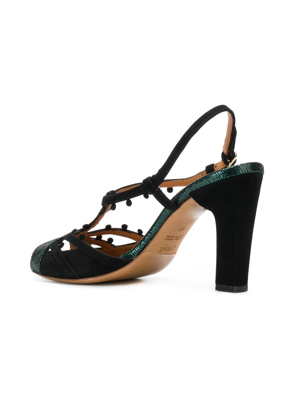 Chie Mihara Sandales Métalliques - Noir qnPZCkaGRm