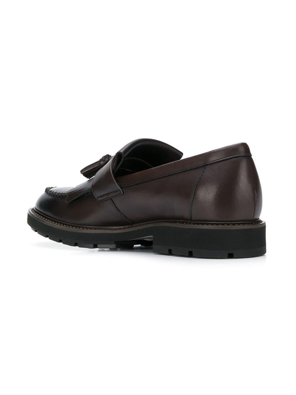 2aa0dadf1f5 Lyst - Tod S Tassel Detail Loafers in Brown for Men