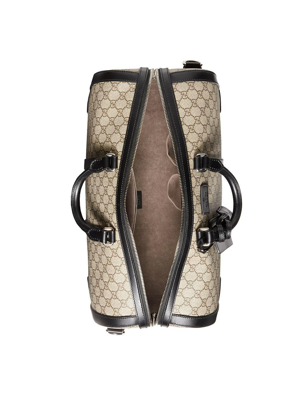 Lyst - Sac de voyage GG Supreme Gucci pour homme f6ad8881657