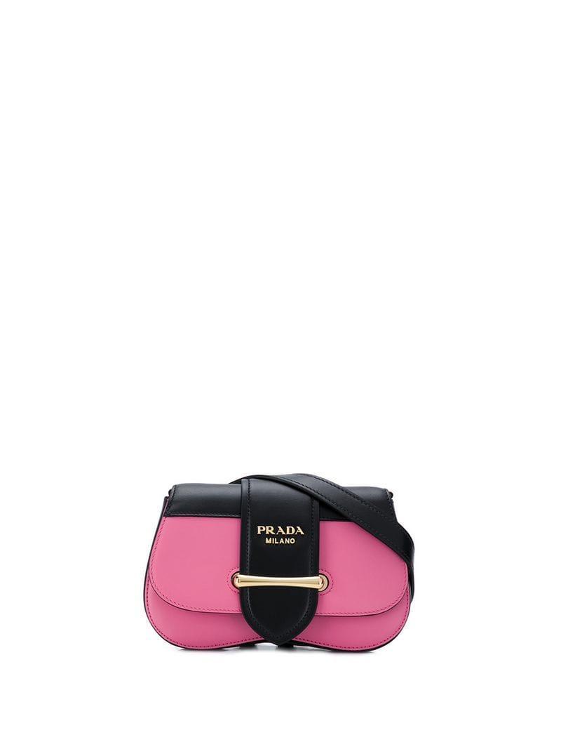 03db71eb3de3e Lyst - Prada Sidonie Belt Bag in Pink