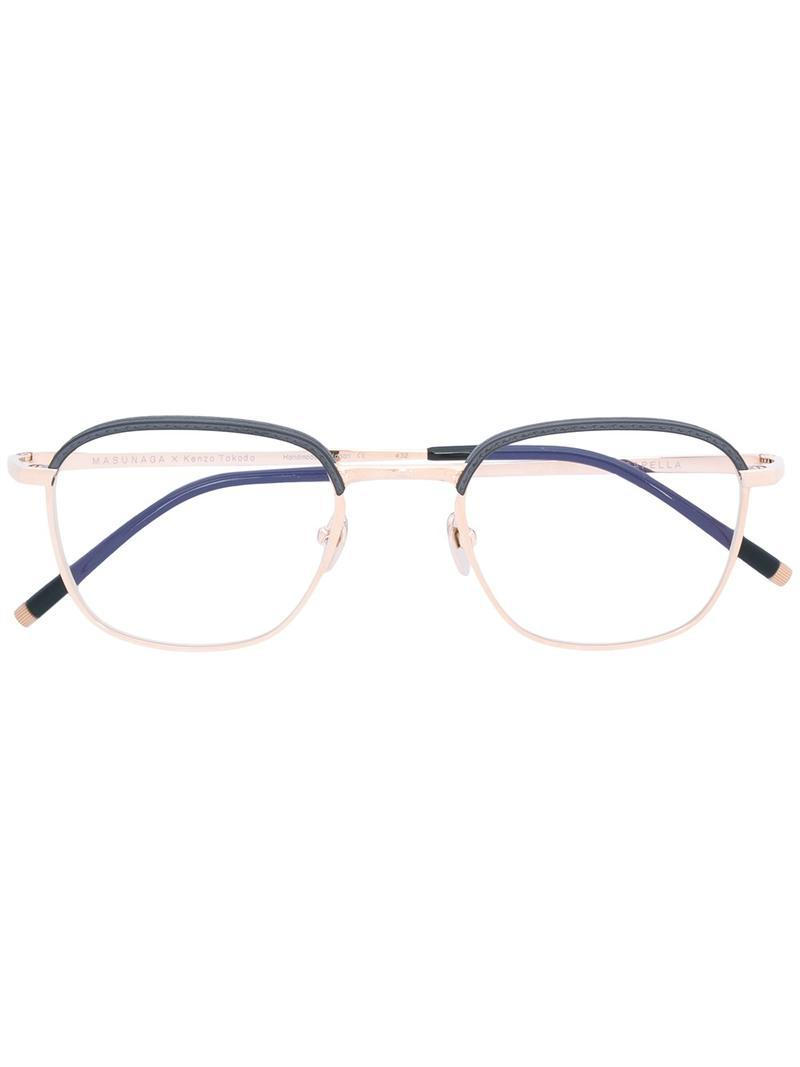 Masunaga Capella glasses Wide Range Of Cheap Online Buy Cheap Amazon Clearance Online Official Site Cheap Sale Brand New Unisex A25wj