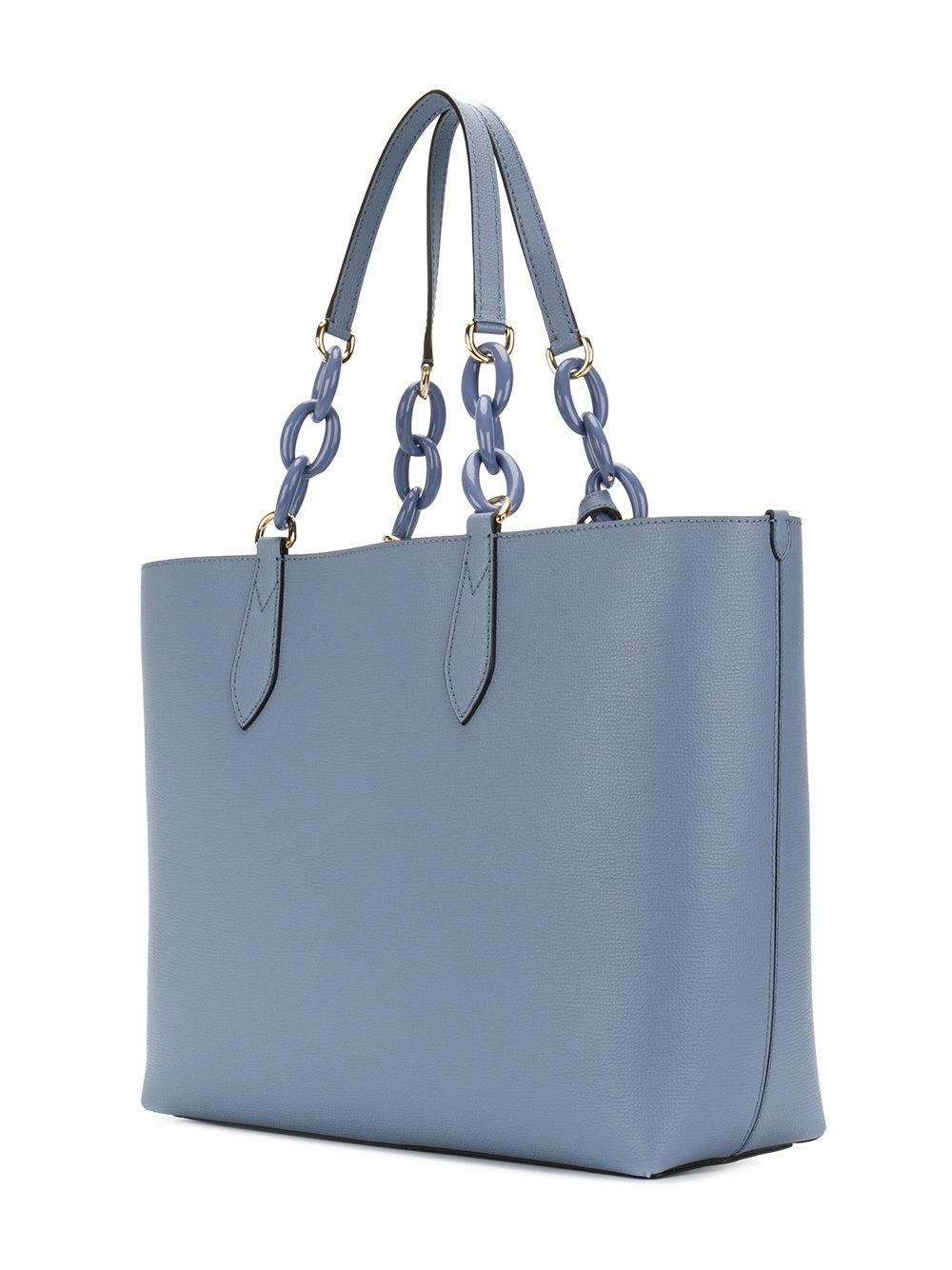 da6db6339e90 Lyst - Burberry Lavenby Reversible Tote in Blue