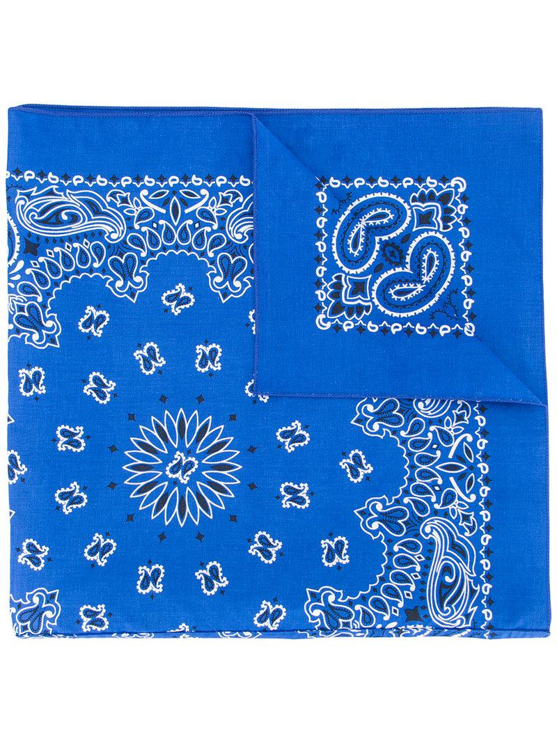 R13 Massive Bandanna scarf Low Price Fee Shipping For Sale gNcvD0l