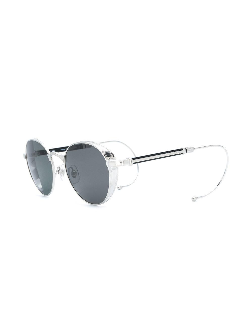 d700facee Lyst - Matsuda Round Shaped Sunglasses in Metallic