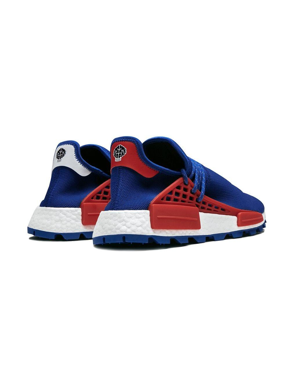 low priced 89d4d 037f0 Adidas - Blue X Pharrell Williams Nmd Hu