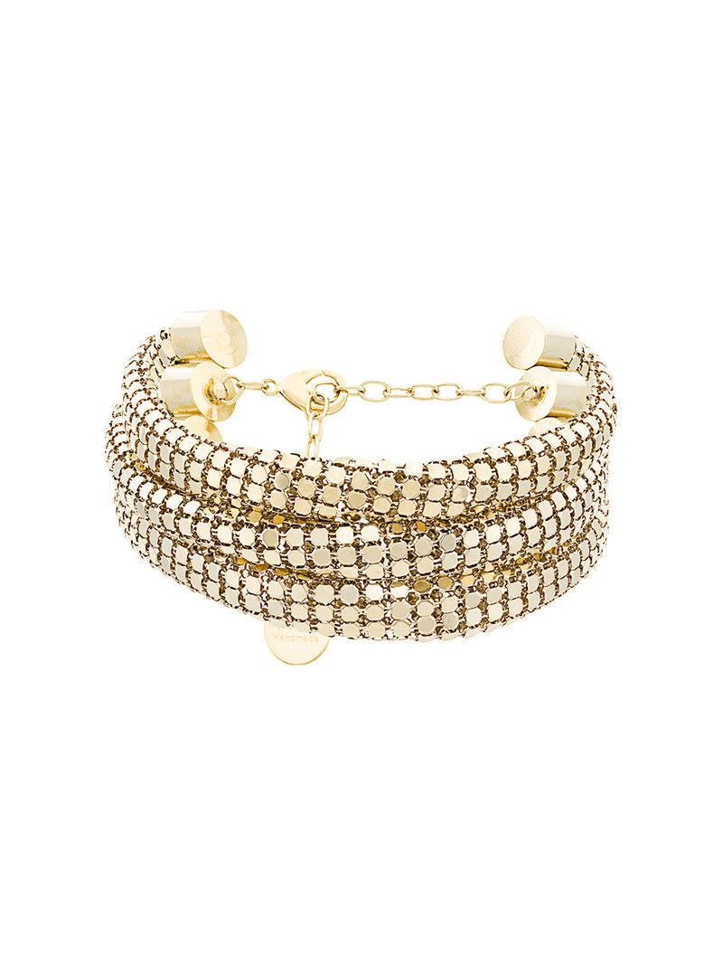 Silvia Gnecchi knot necklace - Metallic sXIyDfbkF