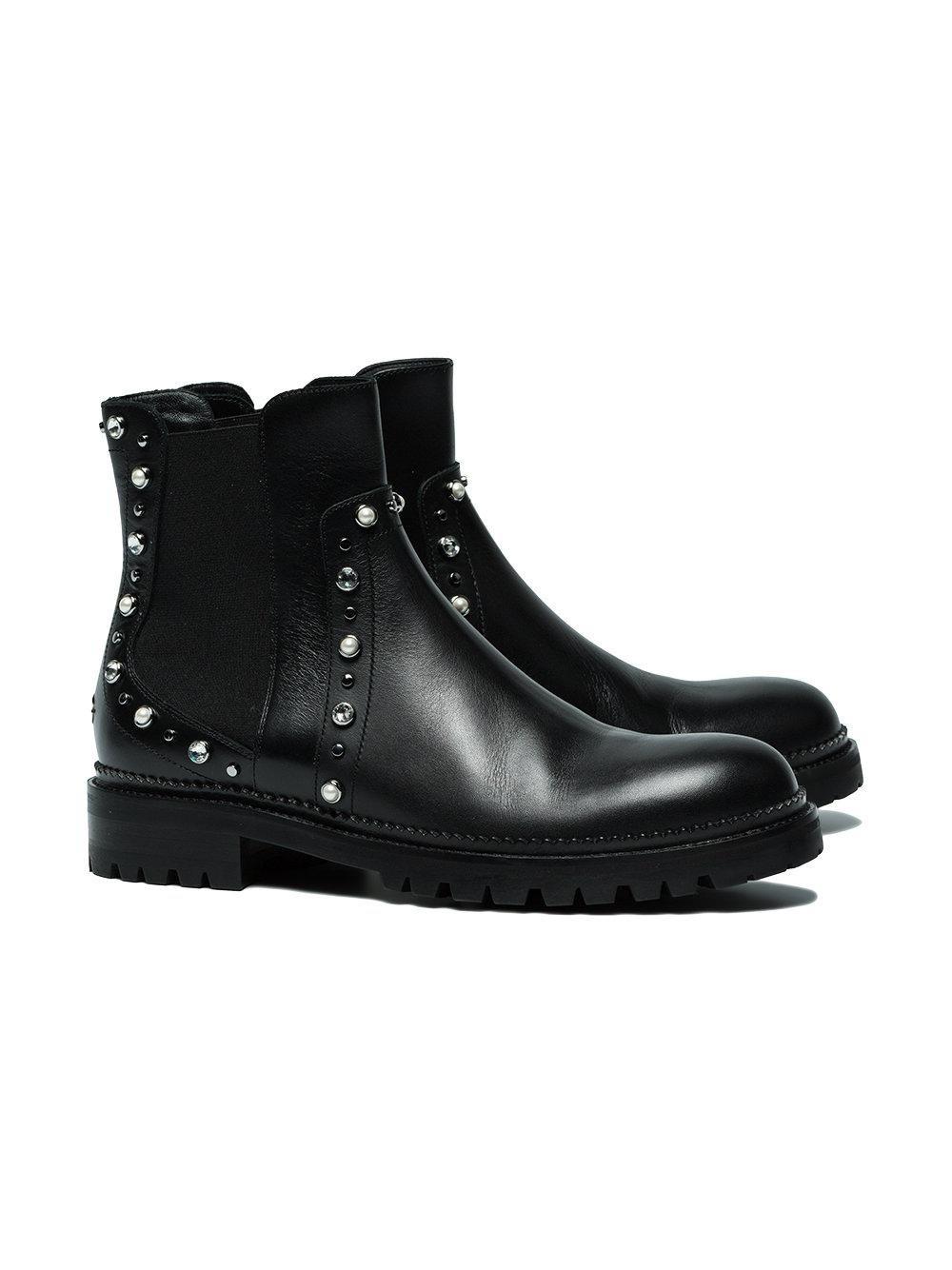 Compra Consultar Barato Jimmy Choo Burrow boots - Black farfetch neri 2018 Unisex En Línea Excelente Para La Venta sDntVGl0Ng