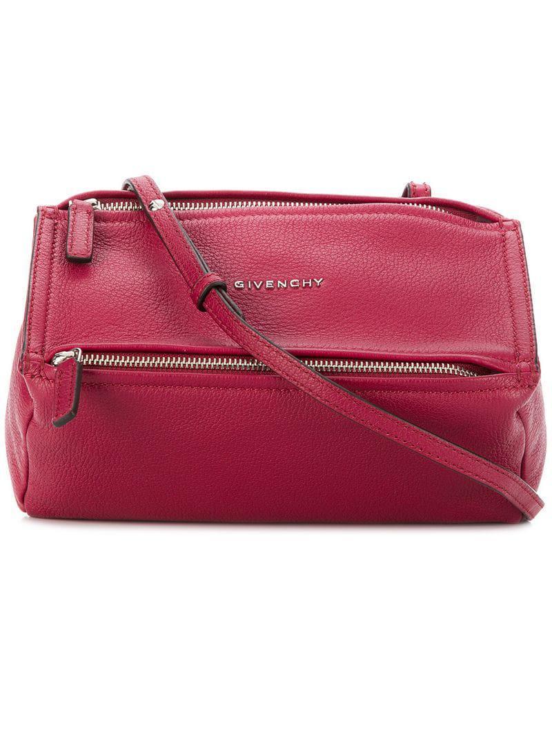 f92f964c4ec42 Givenchy - Pink Mini Pandora Bag - Lyst. View fullscreen