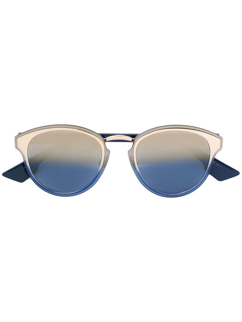 ddcc9ab92c9 Lyst - Dior Nightfall Sunglasses in Blue