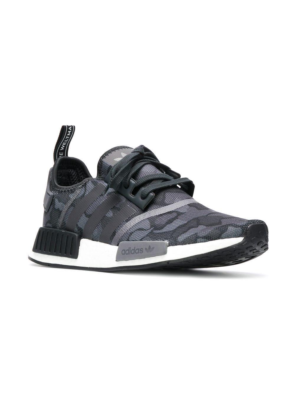 sale retailer b1ec2 3f1b4 Adidas - Gray Originals Nmd R1 Boost Sneakers for Men - Lyst. View  fullscreen