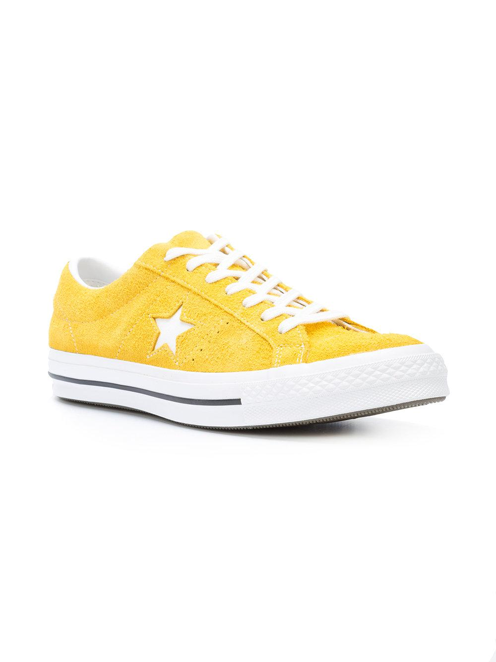 9c8d5e7f46b2 Lyst - Converse One Star Ox Sneakers in Yellow