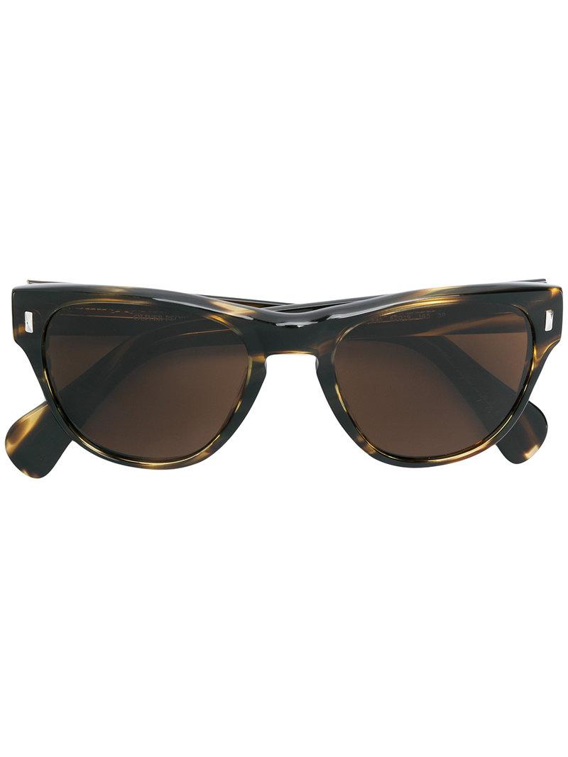 07252c8cb0 Oliver Peoples Shean Sunglasses in Brown - Lyst