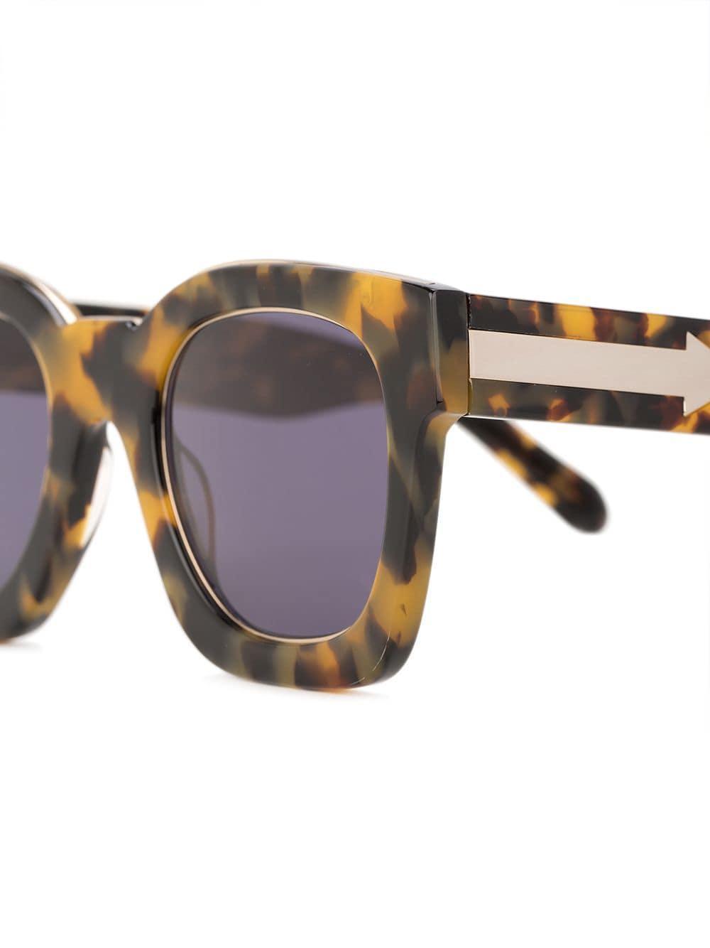 ae1c552c437 Karen Walker Pablo Sunglasses in Gray - Lyst