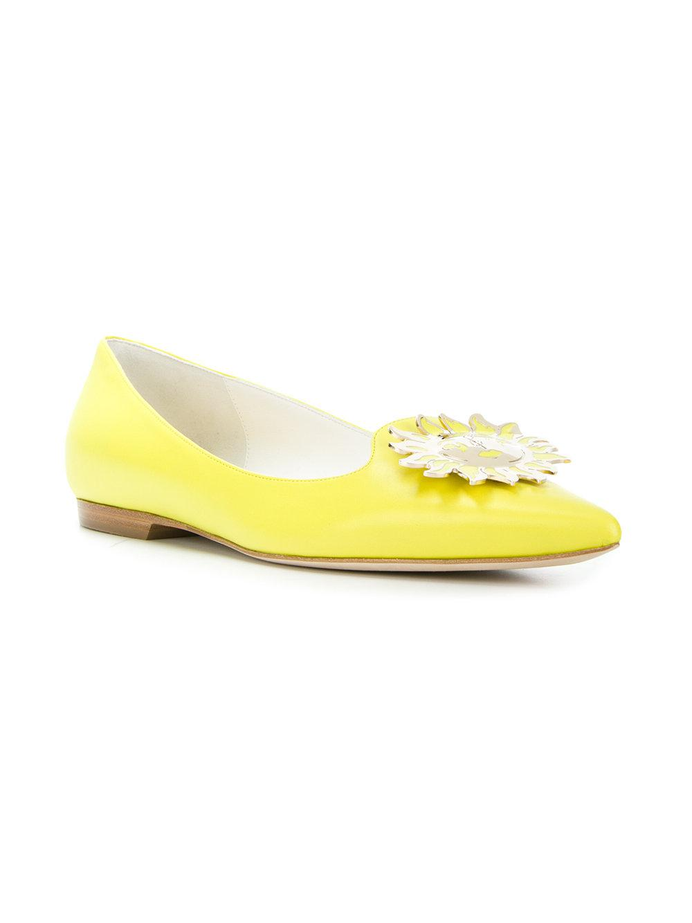 embellished slippers - Yellow & Orange Emilio Pucci UN5AEQdI