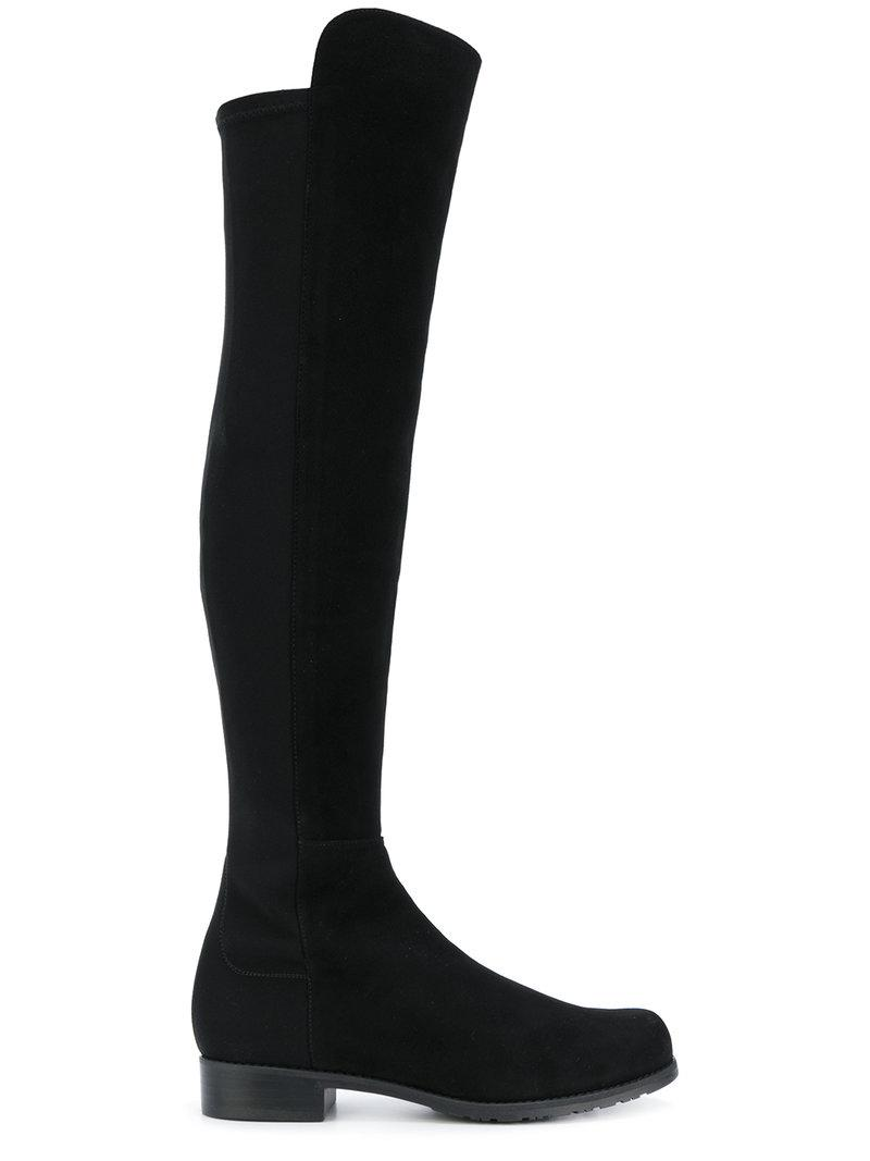Stuart Weitzman panelled knee boots real for sale visit for sale buy cheap for sale outlet cost outlet low price fee shipping ARPRnpa