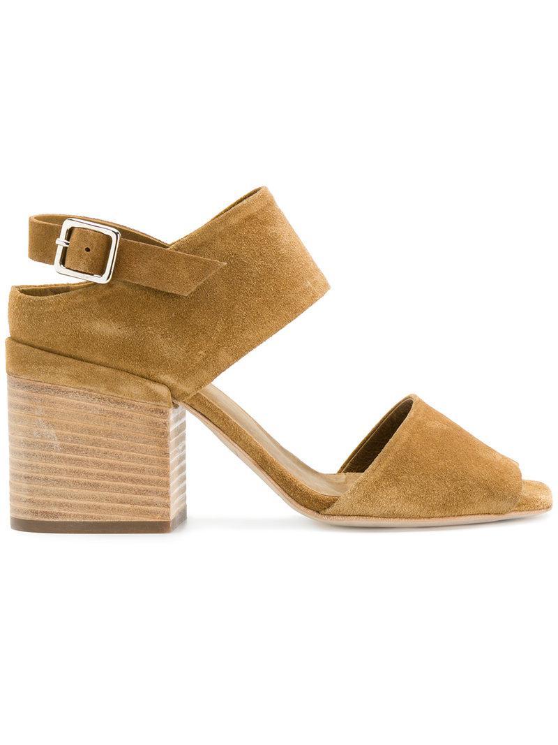 Officine creative Sling back buckle sandals wVe7D