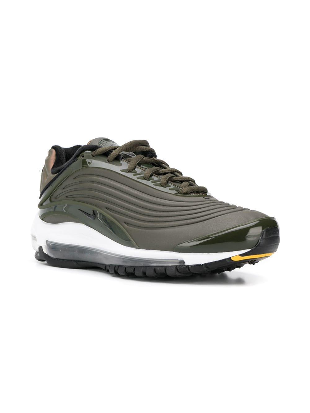 718ca27064 Nike Air Max Deluxe Se Sneakers in Green for Men - Lyst